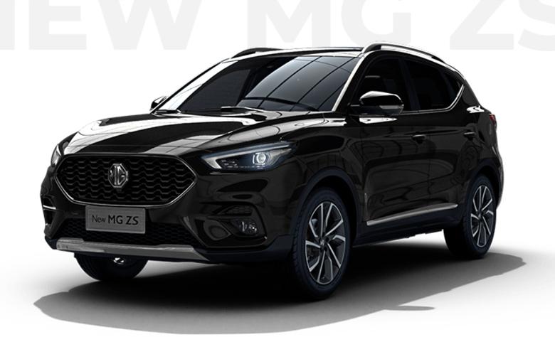 MG ZS 2021 màu đen