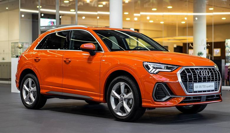 Tổng thể thiết kế ngoại thất của Audi Q3