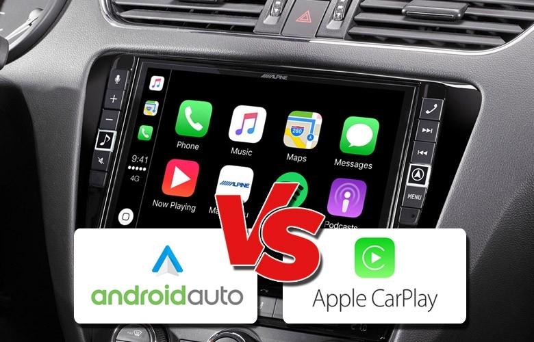 Sự khác biệt giữa Android Auto và Apple CarPlay
