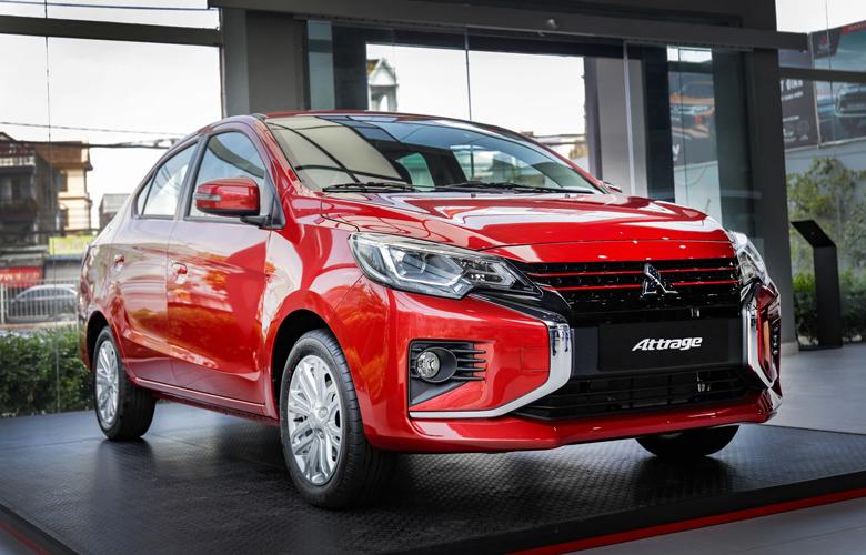 Mitsubishi Attrage có giá 357 triệu đồng