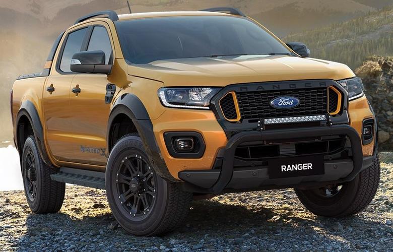 Đầu xe Ford Ranger mới