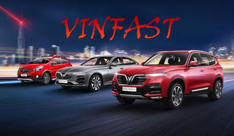 Tổng hợp các mẫu xe ô tô Vinfast