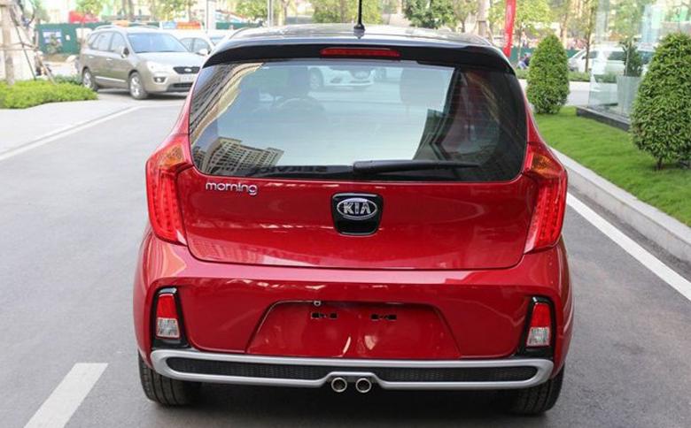 Đuôi xe Kia Morning Luxury