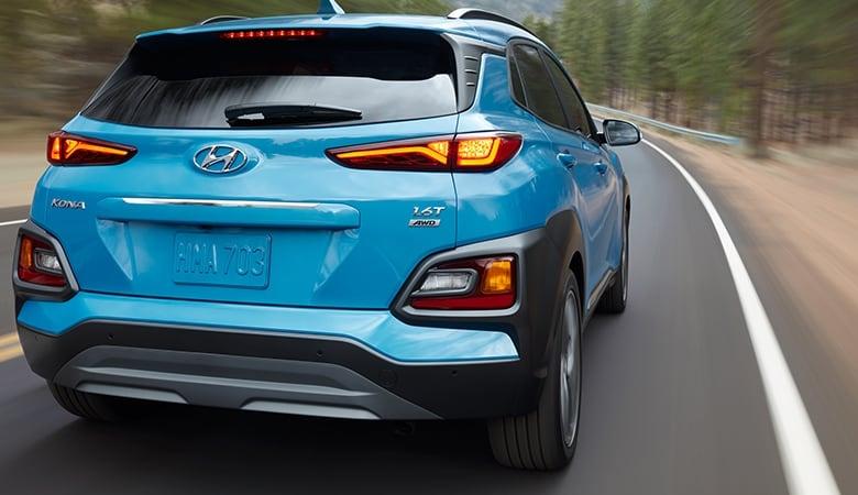 Đuôi xe Hyundai Kona