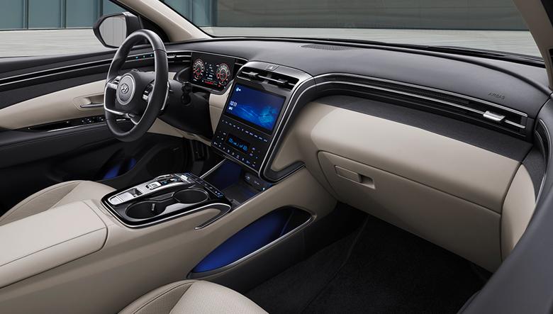Tiện nghi trên Hyundai Tucson khá phong phú