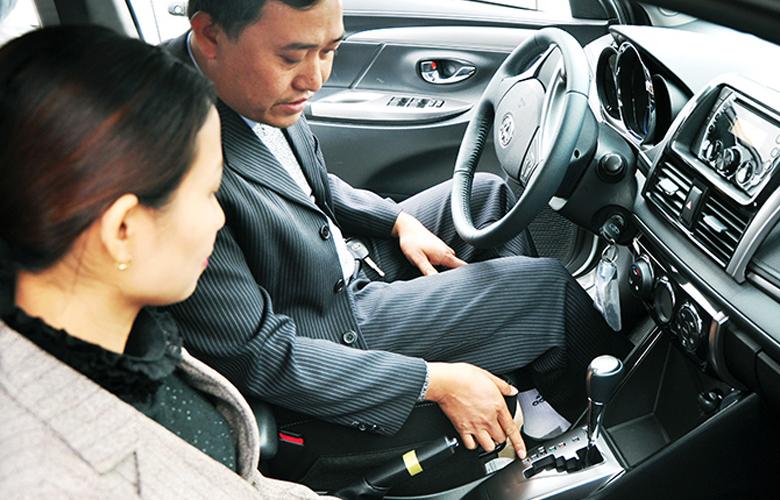 Học thực hành thi bằng lái xe B2