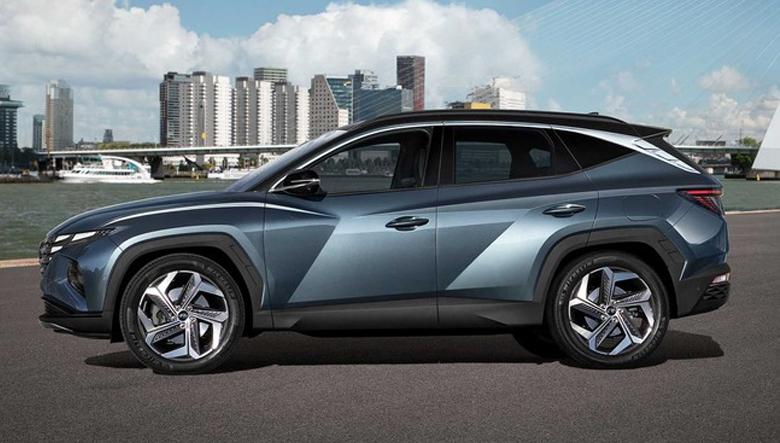 Thân xe Hyundai Tucson 2.0 MPI Đặc biệt