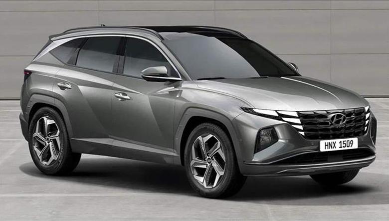 Thân xe Hyundai Tucson 1.6 T-GDI Đặc biệt