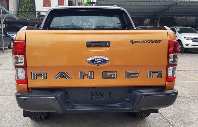 Đuôi xe Ford Ranger Wildtrak