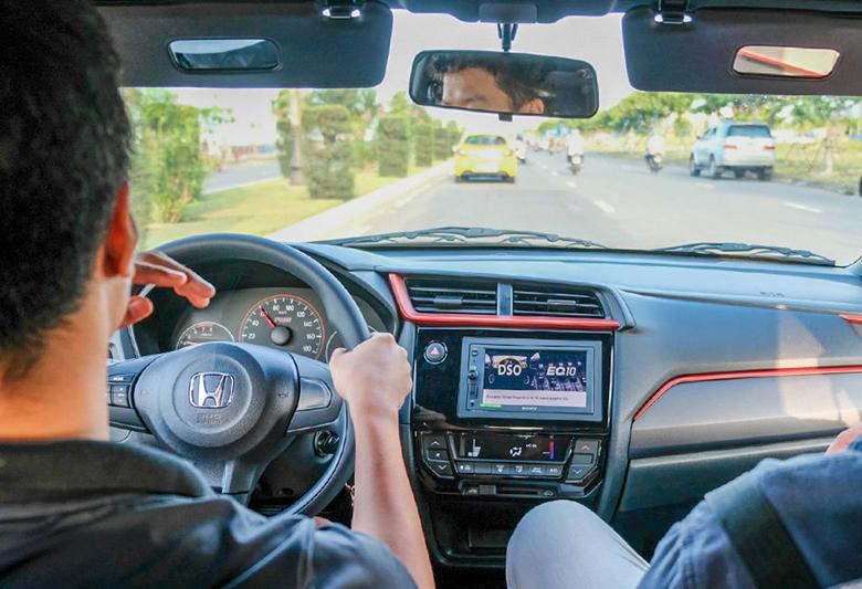 Bảng taploo của Honda Brio RS