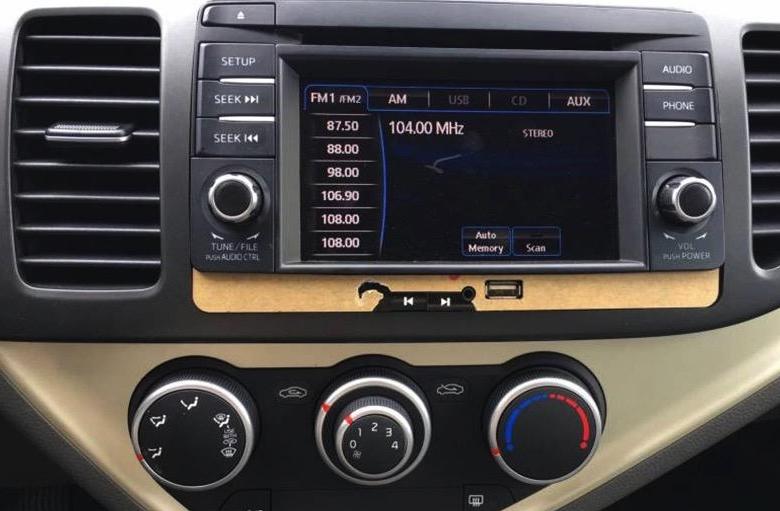 An toàn và Tiện nghi trên Kia Morning Deluxe 2021