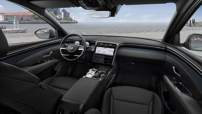 Khoang nội thất của Hyundai Tucson 2.0 MPI Đặc biệt