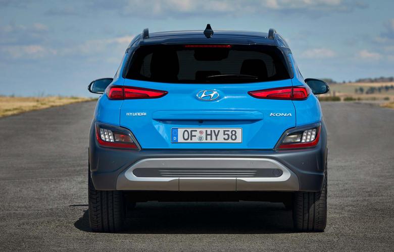 Đuôi xe Hyundai Kona 2.0AT Đặc Biệt