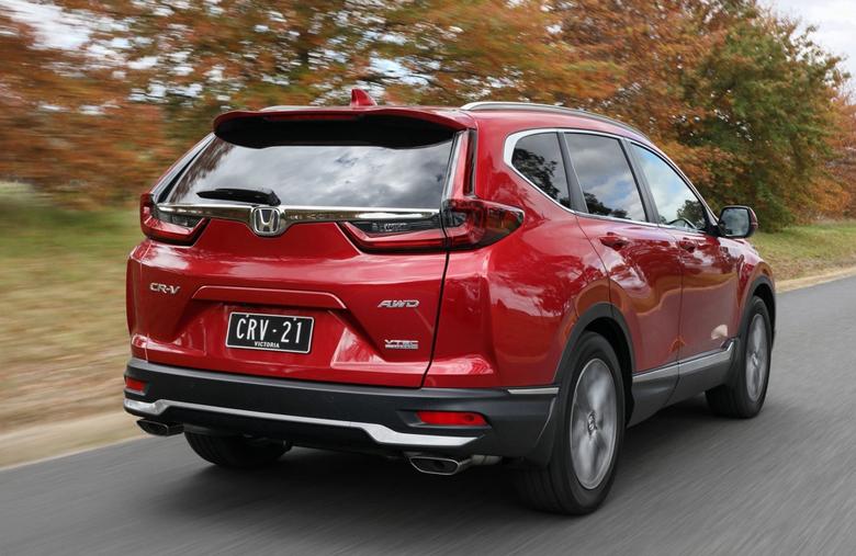 Đuôi xe Honda CR-V 1.5L