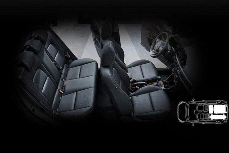 Khoang hành khách của xe cũng rất rộng rãi