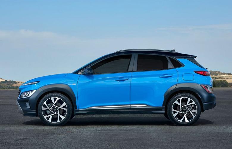 Hyundai Kona thế hệ mới được tăng nhẹ ở chiều dài lên 40mm