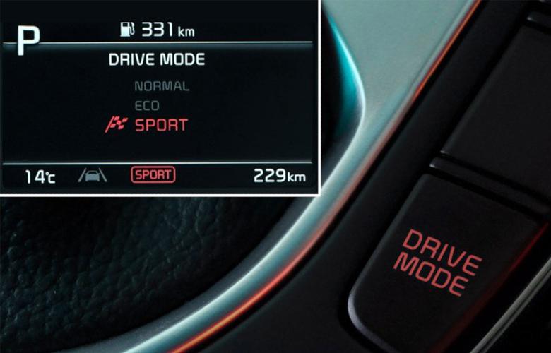 Kia K3 2022 có 3 chế độ lái