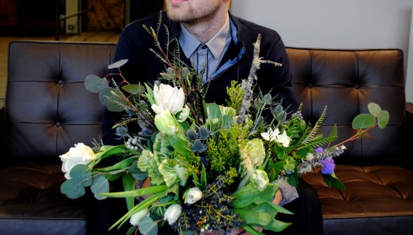 Hayden Regina, a floral designer at Flowers for Dreams