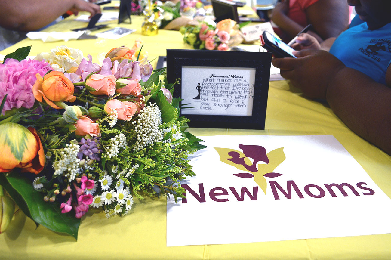 New Moms Mother's Day brunch