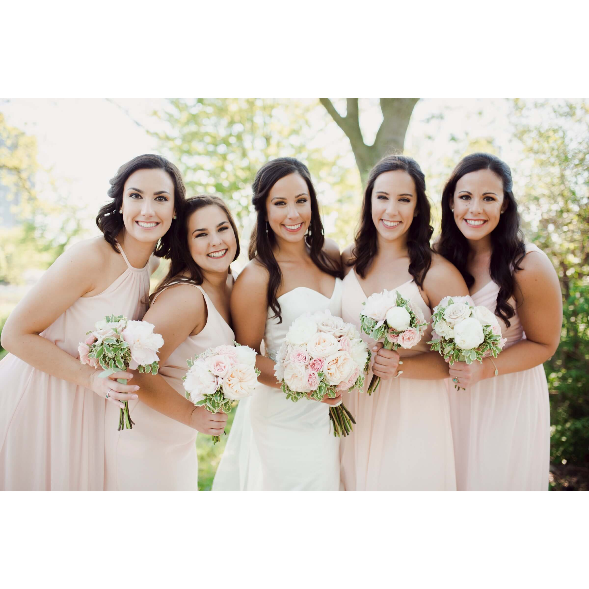 Mary Myers 5.26.18 Blush and Ivory Bridal Party