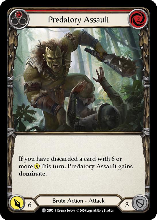 Predatory Assault (Red)