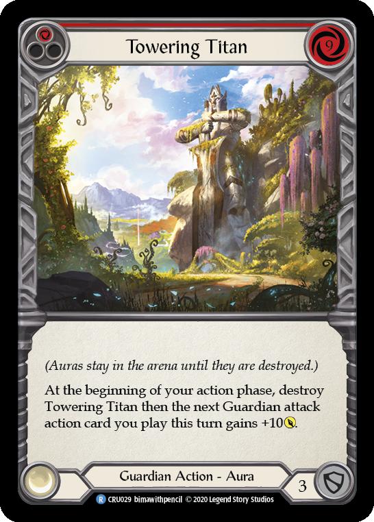 Towering Titan (Red)