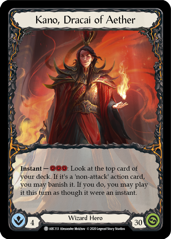 Kano, Dracai of Aether