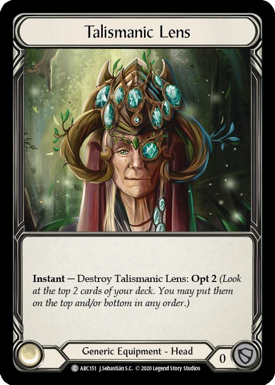 Talismanic Lens