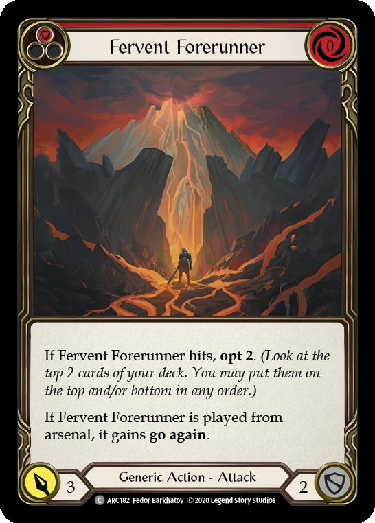 Fervent Forerunner (Red)