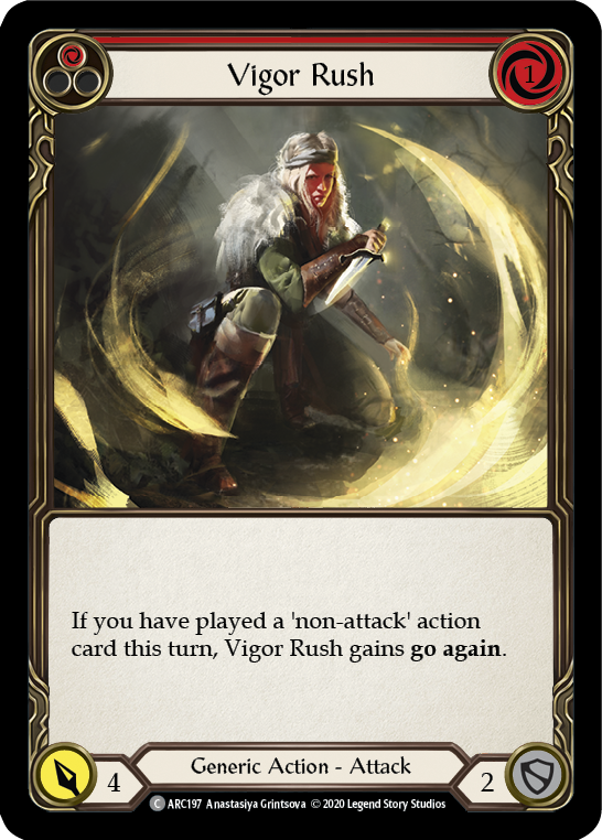 Vigor Rush (Red)