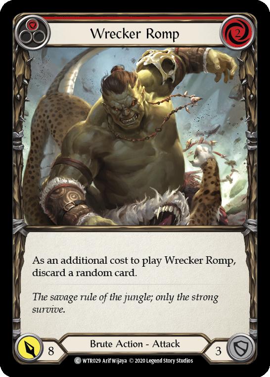 Wrecker Romp (Red)