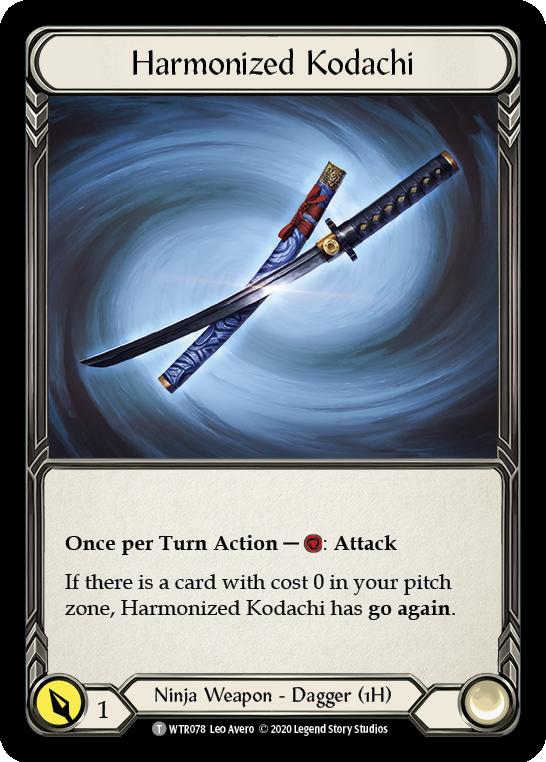 Harmonized Kodachi
