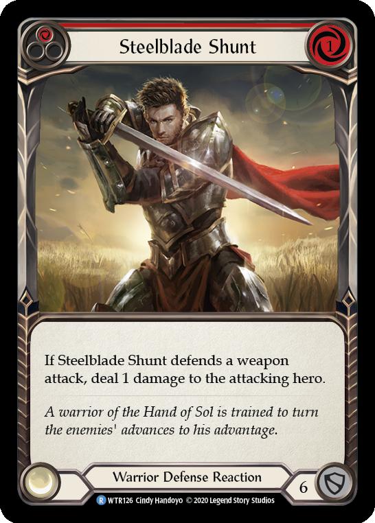 Steelblade Shunt (Red)