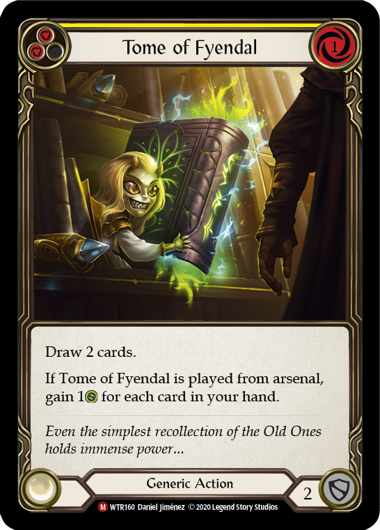 Tome of Fyendal (Rainbow Foil)