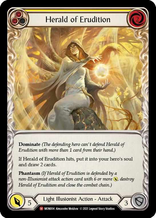 Herald of Erudition (Rainbow Foil)
