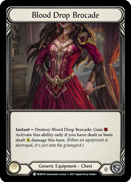 Blood Drop Brocade (Cold Foil)