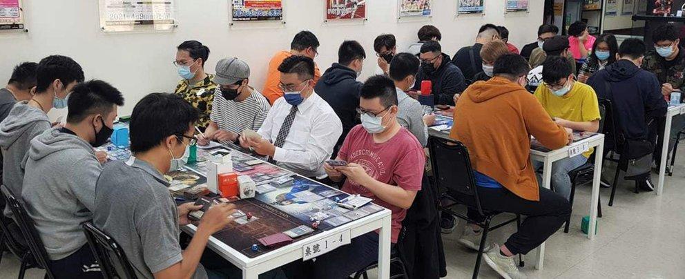 CatFootprint Kaohsiung Skirmish event - wide shot