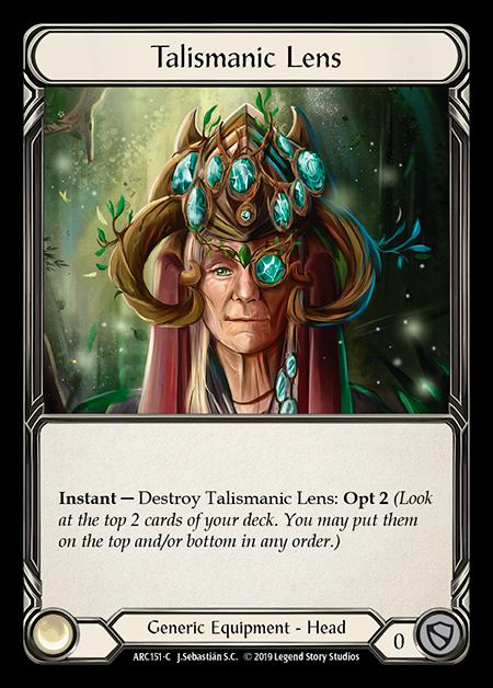 Talismanic Lens (Cold Foil)