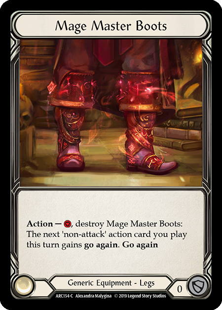 Mage Master Boots (Cold Foil)