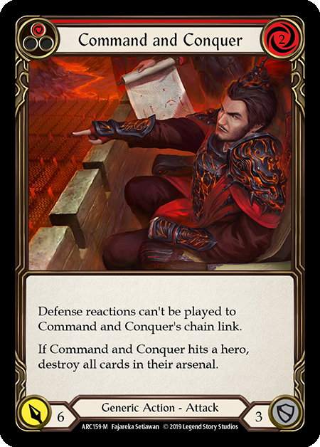 Command and Conquer (Rainbow Foil)