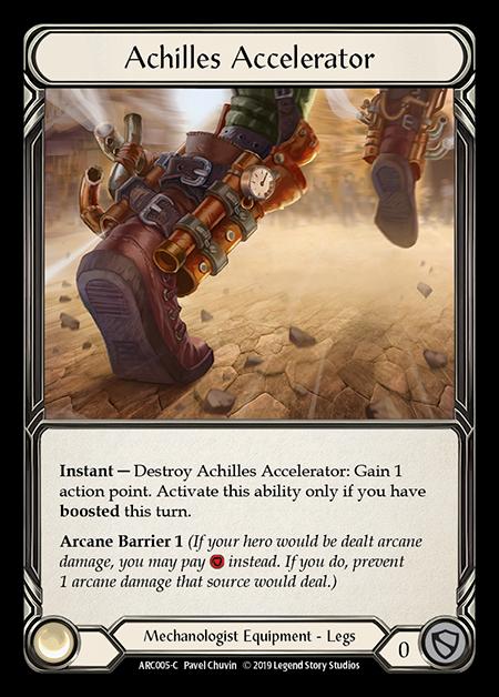 Achilles Accelerator (Cold Foil)