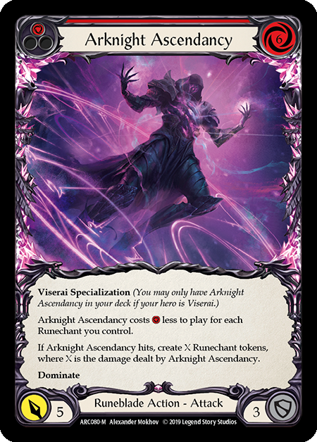 Arknight Ascendancy (Rainbow Foil)