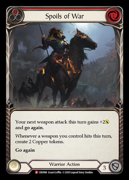 Spoils of War (Rainbow Foil)