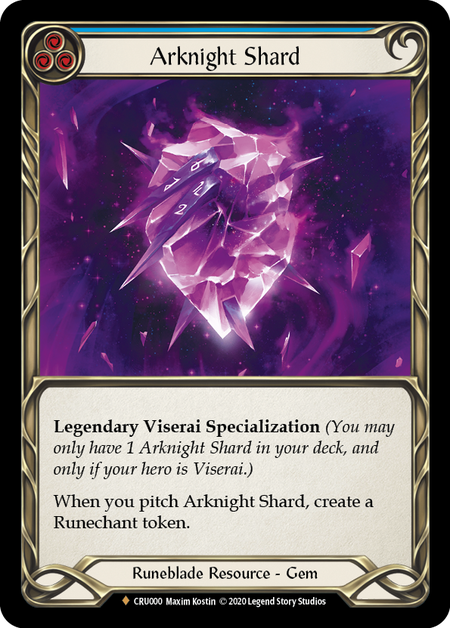 Arknight Shard (Cold Foil)