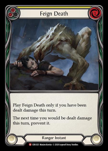 Feign Death (Rainbow Foil)