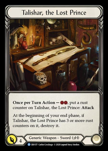 Talishar, the Lost Prince (Cold Foil)