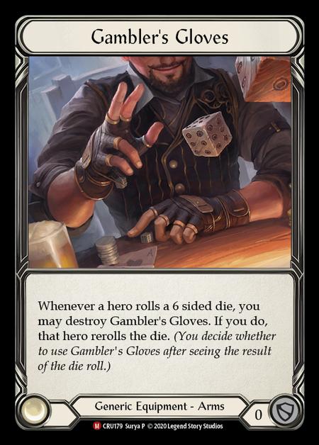Gambler's Glove (Cold Foil)