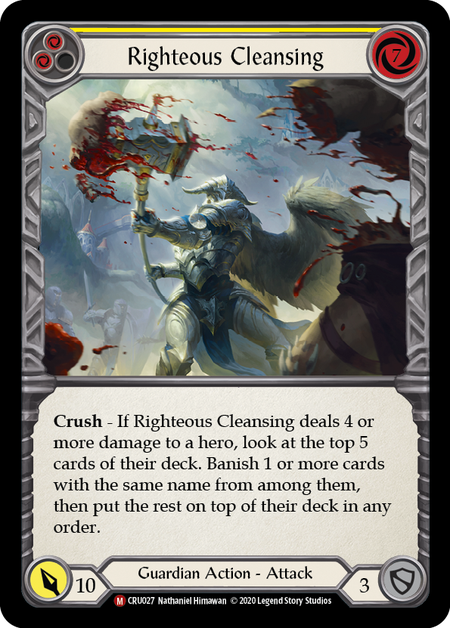 Righteous Cleansing (Rainbow Foil)
