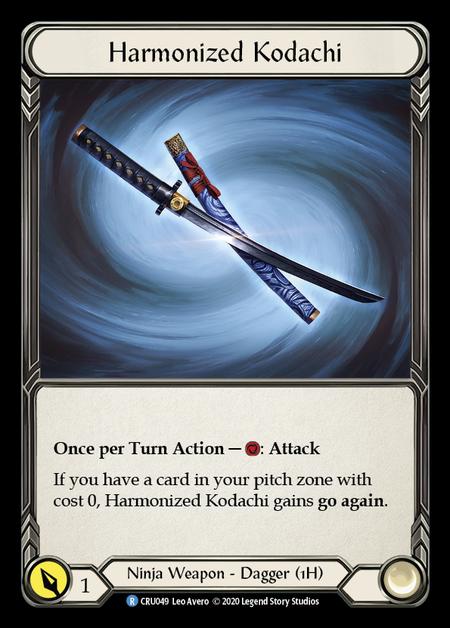 Harmonized Kodachi (Cold Foil)