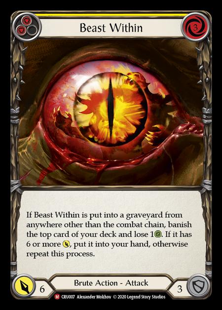 Beast Within (Rainbow Foil)